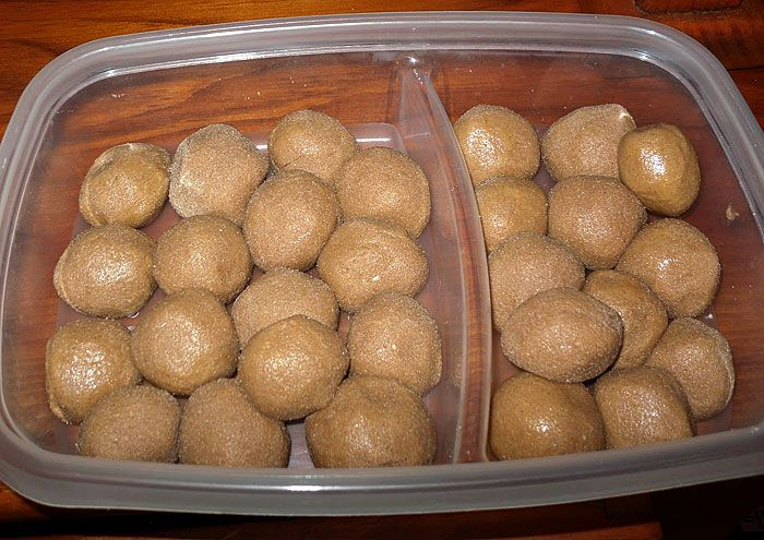 Proteínové guľky s arašidovým maslom a ovsenými vločkami   FitnessTreneri.sk