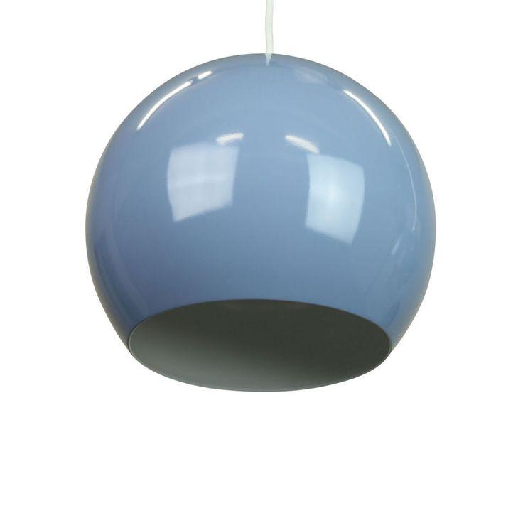 Blue Pendant Light - INGA Pigeon Blue