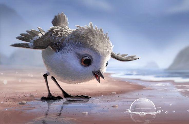 Η ταινία μιλά για ένα πεινασμένο θαλασσοπούλι το οποίο σιγά-σιγά μαθαίνει να αντιμετωπίζει τον φόβο του για τη θάλασσα. Δίχως υπερβολή πρόκειται για μία από τις καλύτερες ταινίες μικρού μήκους από την Disney-Pixar.
