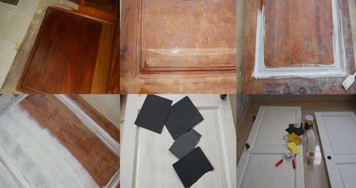 Pintar una puerta con laca sin utilizar pistola y compresor.