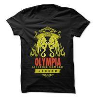 Team Olympia ... Olympia Team Shirt !