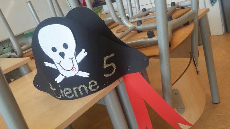 Piraten verjaardagshoed