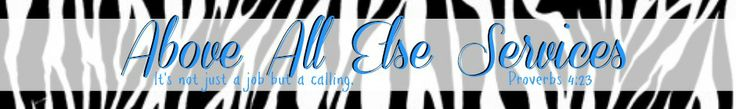Above All Else Inc. | It's not just a job, but a calling… great website with resources for parents of children with autism and other special needs!!