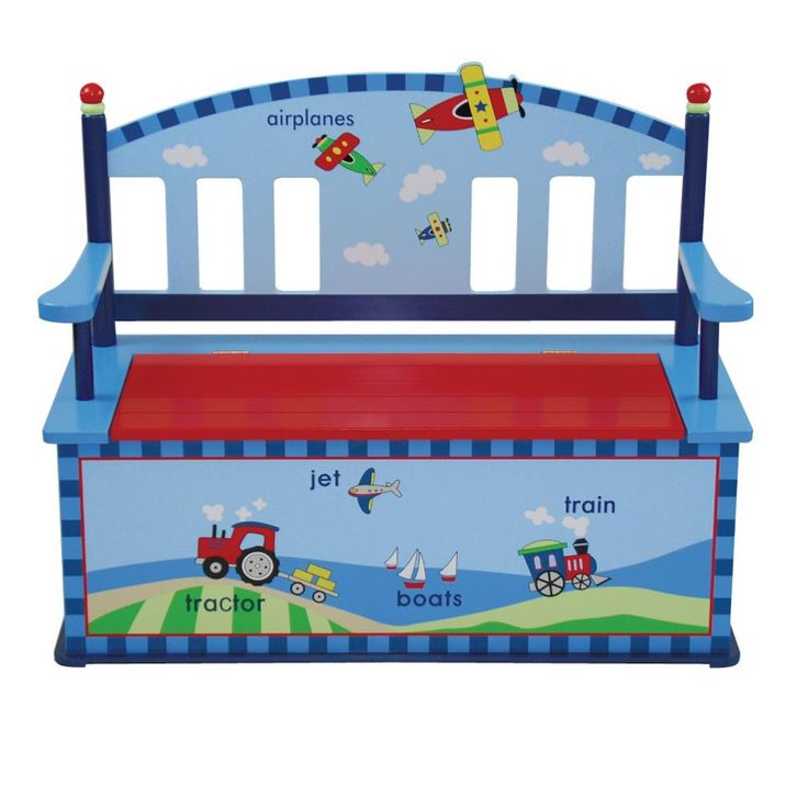 Levels of Discovery Getting Around Bench Seat with Storage - LOD60001