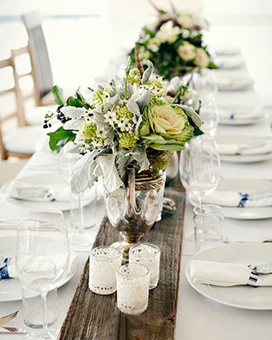 beach table decorations wedding - Google Search
