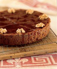Walnut and Caramel Cake (Gateau Perigourdin) (Anne Willan) (50 Most Influential Women in Food, #27).