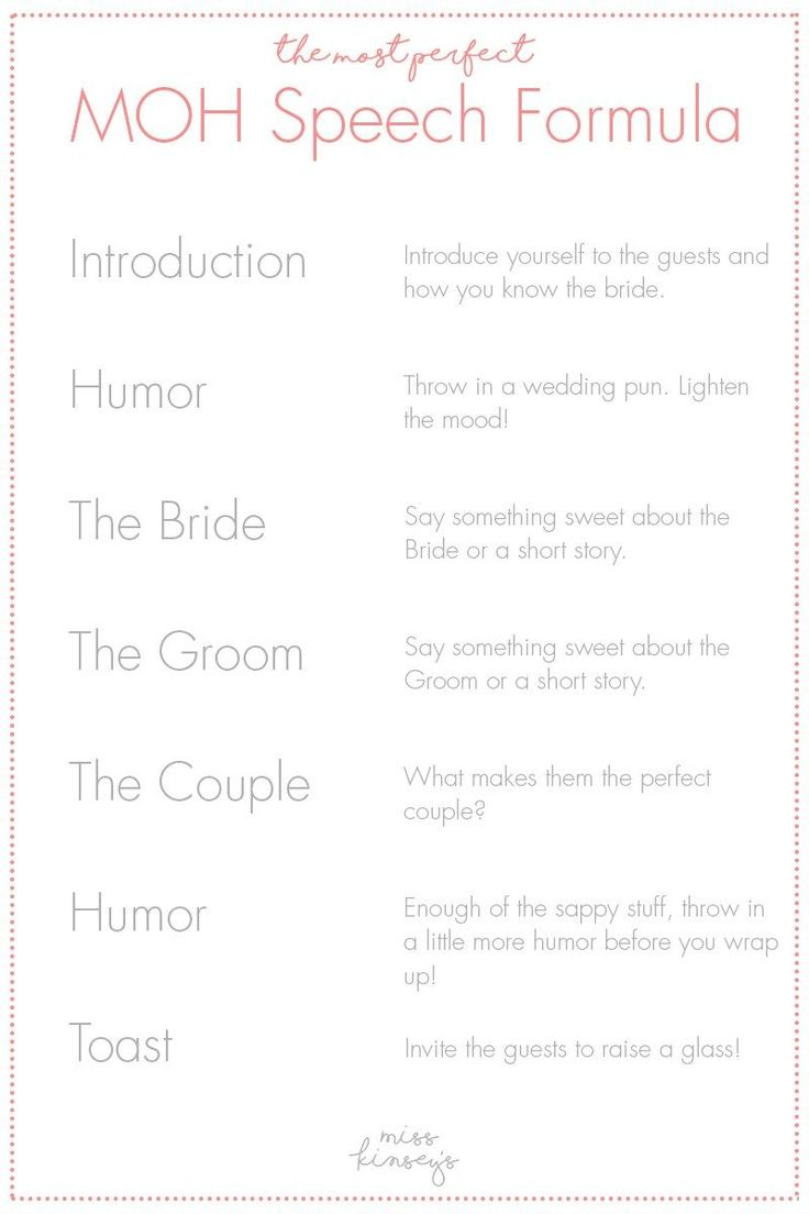 writing maid of honor speech Maid of honor speeches have to be written with a lot of care and thought people are always waiting for the speech by the maid of honor as they are the most entertaining speeches.