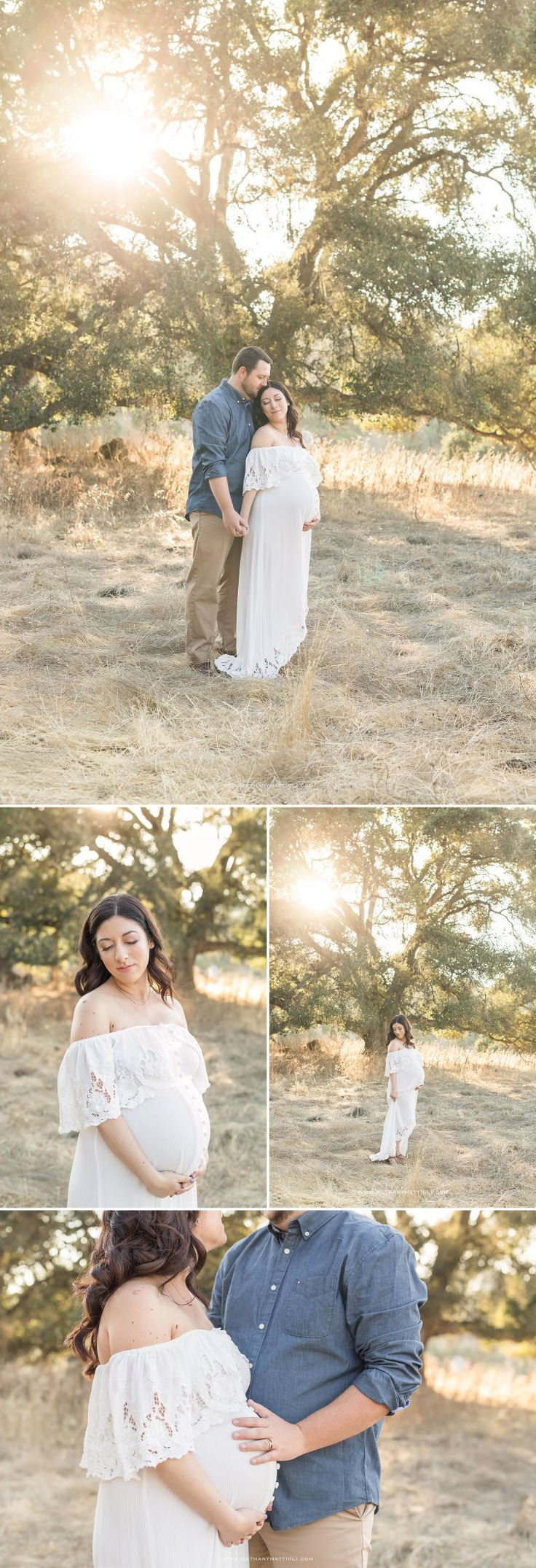 Romantic Outdoor Maternity Photography | Pregnancy Photography Bay Area | Bethany Mattioli Photography