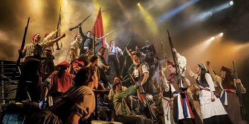 Tickets: See Tickets, £67.50 -- Top 'Les Misérables' Ticket & Free 2-Course Meal | Travelzoo