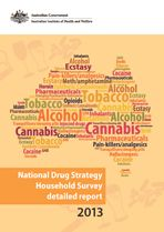National Drug Strategy Household Survey detailed report: 2013 (AIHW) - shows that fewer Australians are smoking daily and are smoking less cigarettes; - fewer people are exceeding the lifetime risk and single occasion risk guidelines for alcohol use; - overall illicit drug use has remained stable but some drugs have declined and some have increased; - alcohol continues to be the drug of most concern to the community but an increasing number of people are concerned about meth/amphetamines.