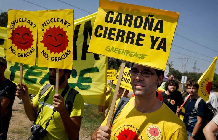 Greenpeace llama a participar en la manifestación contra la reapertura de la central de Garoña