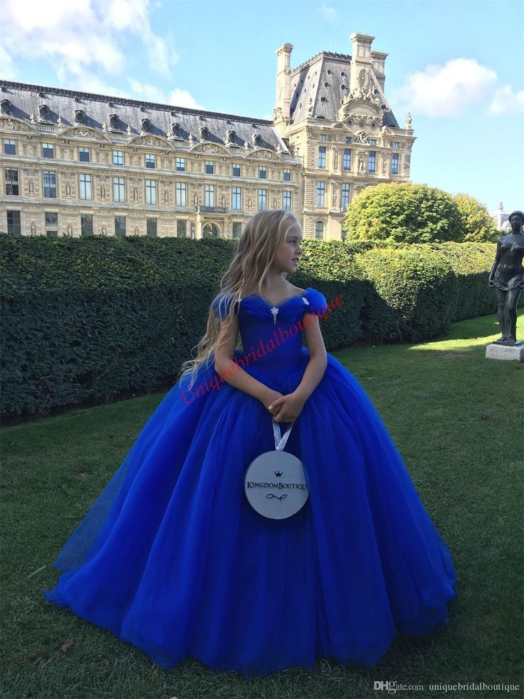 Cinderella inspired girls pageant dresses 2017 off the