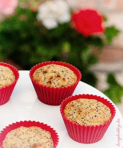 máj Citromos-mandulás-mákos (paleo) muffinok
