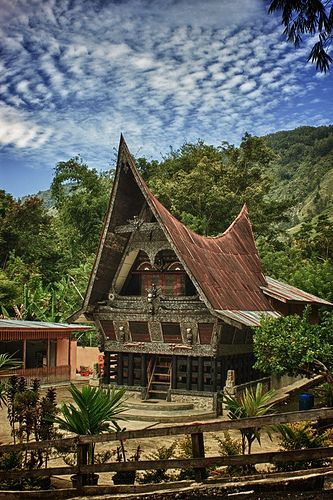 Batak Museum at Samosir Island Right on The Center of Lake Toba - North Sumatra, Indonesia