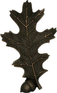 The Oak Leaf 1 Acorn is perfect for your cabin. You can even mix things up a bit by alternating between the oak leaf with one or the oak leaf with two acorns!
