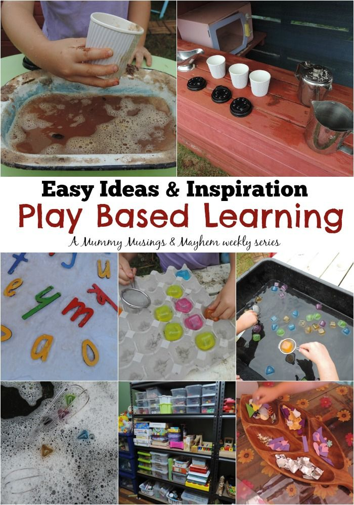 Easy play based learning ideas to try at home  - Follow a week in the life of a home based early childhood educator for inspiration. Mummy Musings and Mayhem