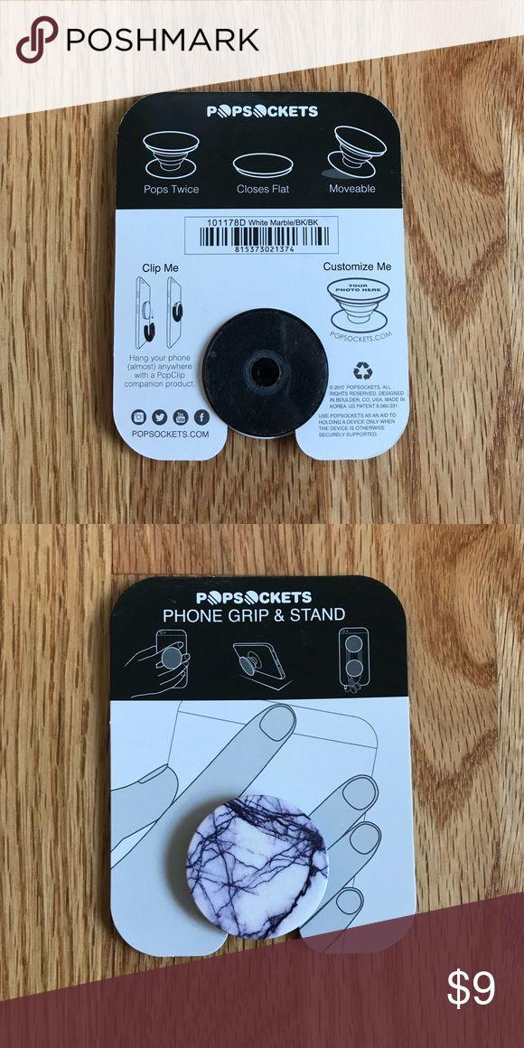 Brand New Marble Pop Socket Brand new, never been taken