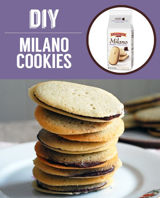 Homemade Milano Cookies | 27 Classic Snacks You'll Never Have To Buy Again