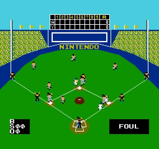 Nintendo Basebal.....Mary do you remember this???