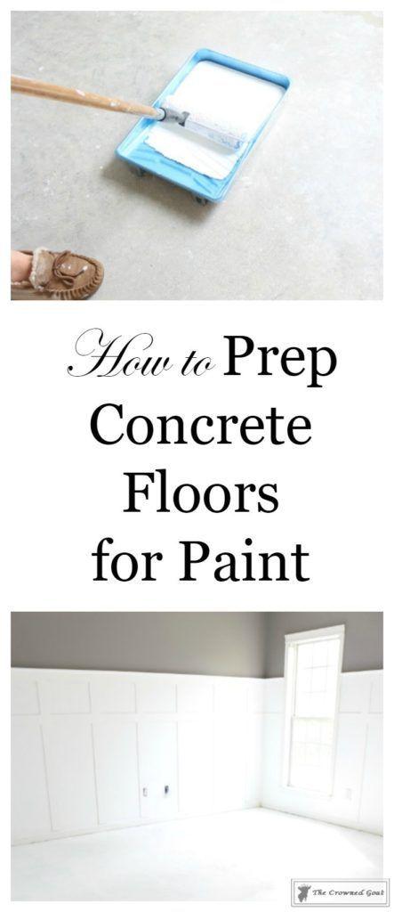 The 25 best Paint for concrete floors ideas on Pinterest