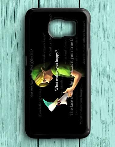 Zelda And Majora Mask Quotes Samsung Galaxy S6 Case