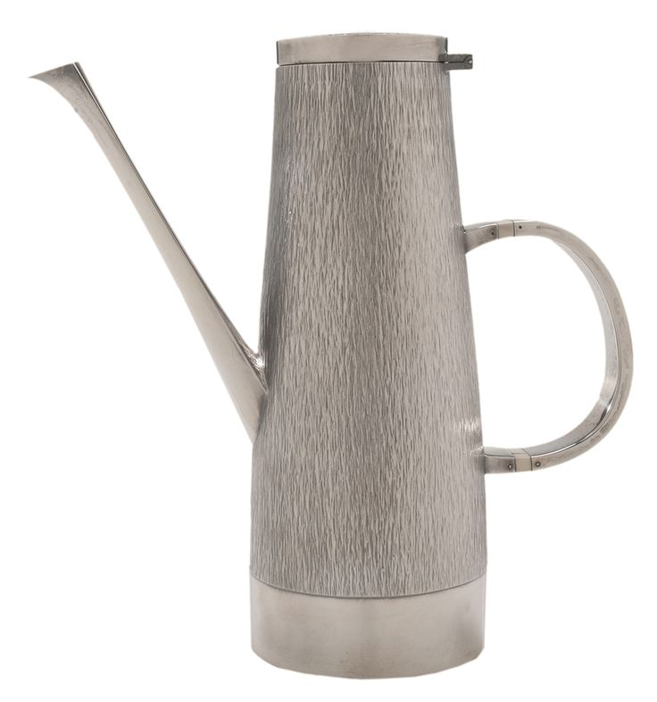 Gerald Benney Modern English Silver Coffeepot - Lot 36 of the May 15-16, 2015 auction at Brunk Auctions