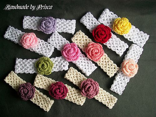 The Genius Headband, free pattern by Elizabeth Alan.  Really neat pattern, very stretchy with no buttons or ponytail elastic. Embellish according to your imagination. Takes less than 30 minutes to make one - I just made one  :-)   . . . .   ღTrish W ~ http://www.pinterest.com/trishw/  . . . .  #crochet