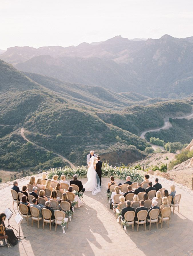 Smaller, more intimate weddings have become more popular // Plan an unforgettable wedding with the biggest wedding trends of 2016. #WeddingInspo