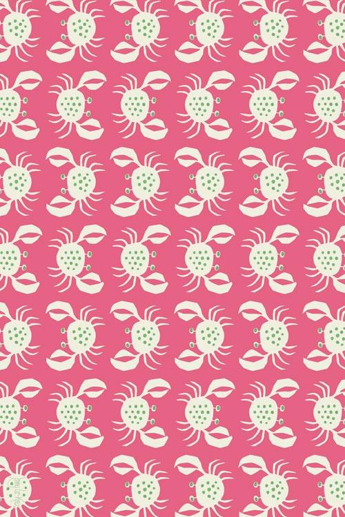 """Crancod Floor Cloth: Pink CR-P - 45\""""X30\"""""""