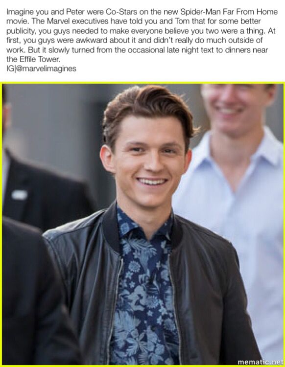 Ohhhh yeah | Tom Holland/ Spiderman | Tom holland imagines, Tom