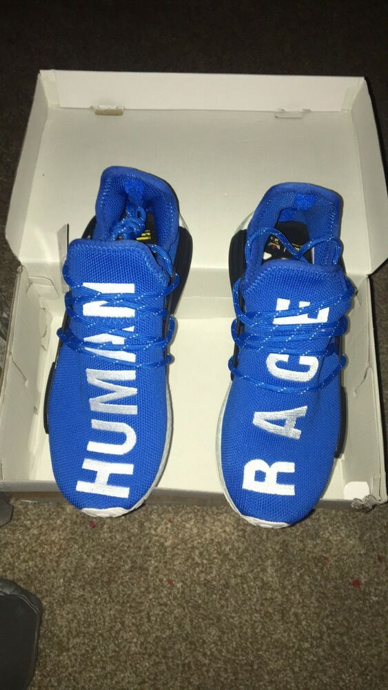 53ff2a4de Adidas x Pharrell Williams NMD Human Race Blue Mens New  fashion  clothing   shoes  accessories  mensshoes  athleticshoes (ebay link)