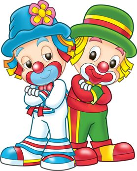 clowns.quenalbertini: Cute little clowns