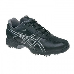 SALE - Asics Tour Golf Cleats Mens Black - BUY Now ONLY $79.99