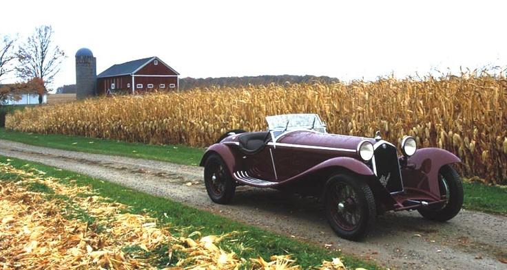 Alfa Romeo 8C 2300 Spider Zagato, 1934