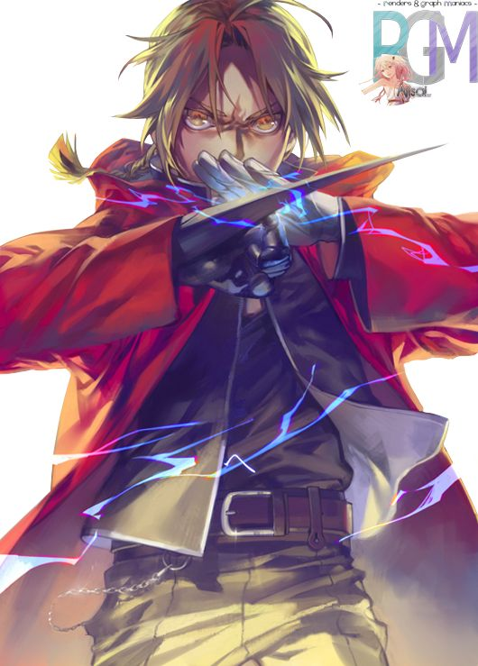 Render Fullmetal Alchemist - Renders fullmetal alchemist artiste zanbonzakura edward elric alchemist