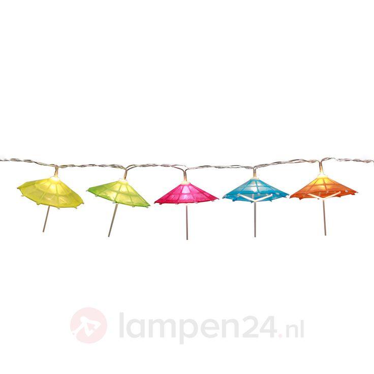 Umbrella - kleurrijke led lichtketting op batterij veilig & makkelijk online bestellen op lampen24.nl