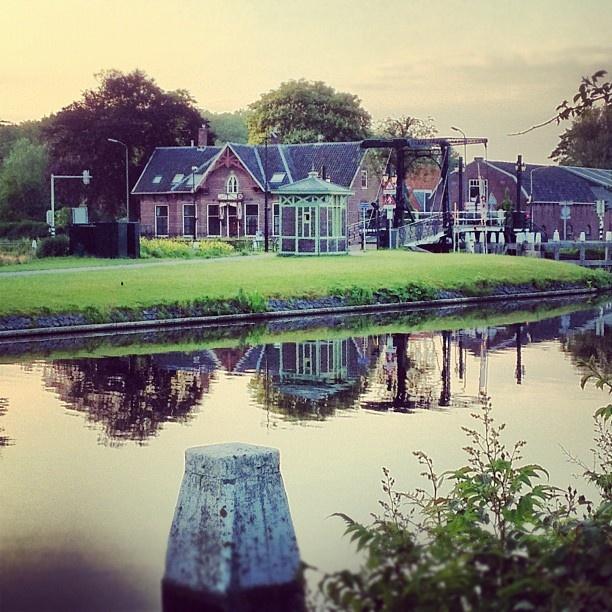 .. sunrise in Rijswijk