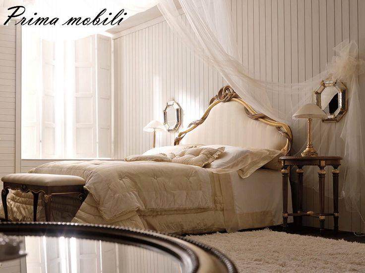 Итальянская двуспальная кровать 1958 Savio Firmino купить в Москве в Prima mobili