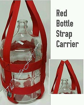 3 Gallon Tall Water Bottle Strap Carrier  BOTTLE NOT INCLUDED Carry with ease!