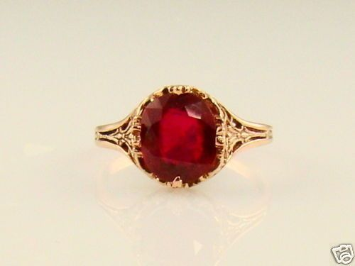 Pretty antique ruby. | Pinter Gemstones