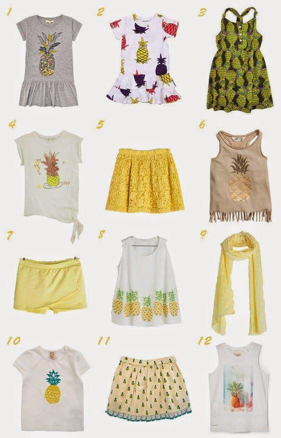 Trend Alert: Pineapple print