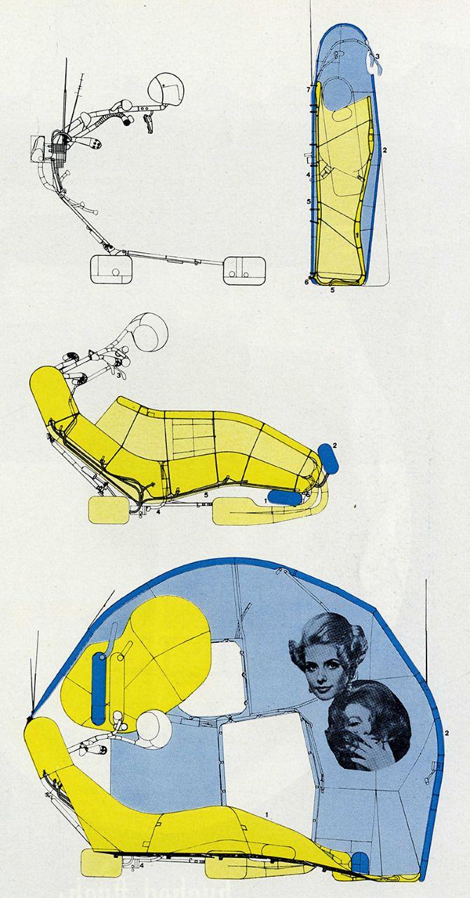 archigram cushicle | Task 01C: Machines | Pinterest Archigram Michael Webb