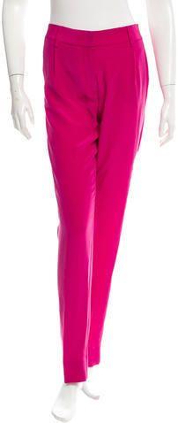 Diane von Furstenberg Silk Skinny Pants w/ Tags