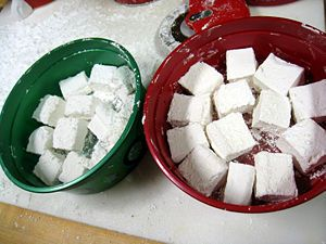 Another make your own marshmallows... with pictures.  Looks easy enough.  :)