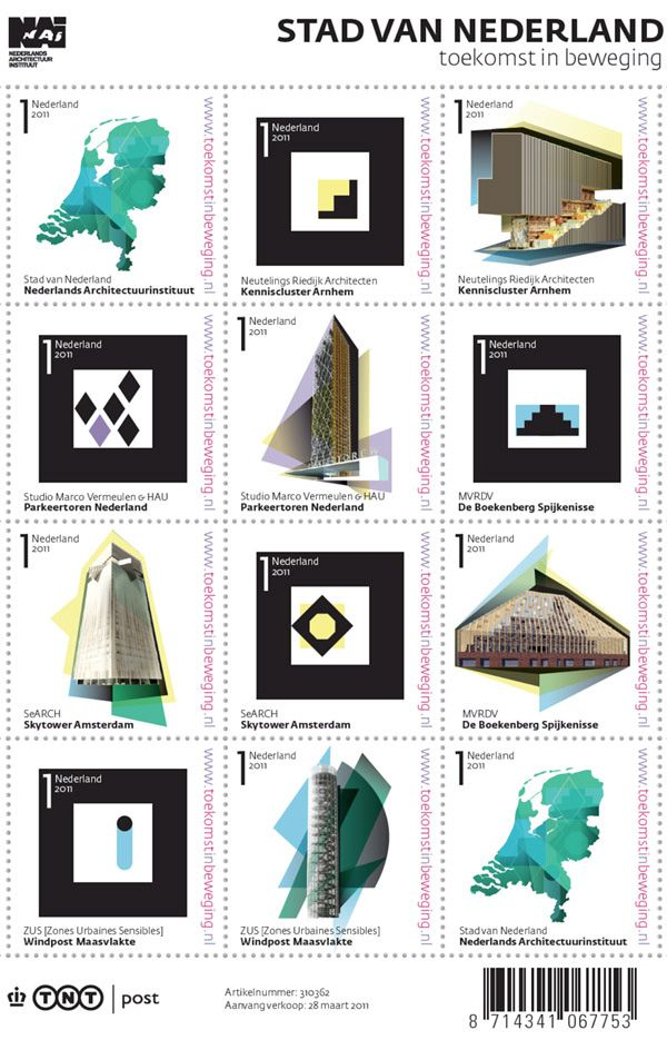 ..: Augmented Reality, Dutch Stamps, Reality Stamps, The Netherlands, Graphics Design, Architecture Stamps, Web Cam, Stamps Design, Postage Stamps