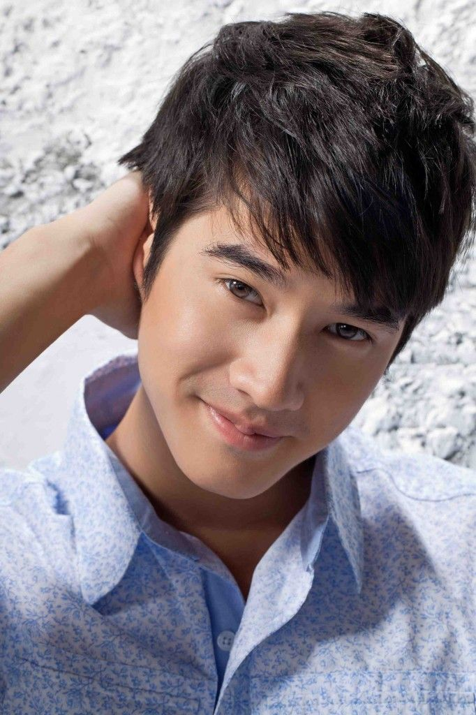 Thai actor and model Mario Maurer