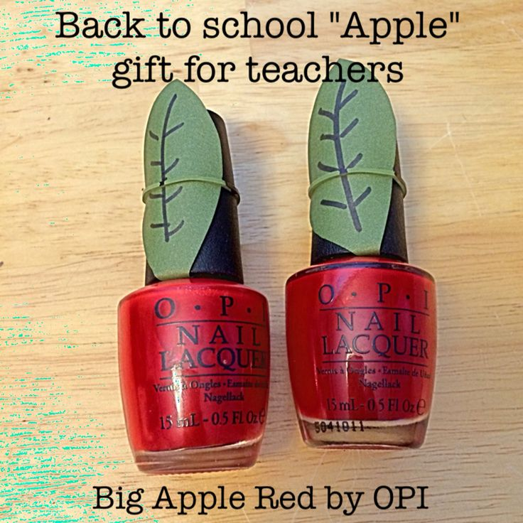 """Teachers can't live by 'apples' alone, they must have FABULOUS nails!"""