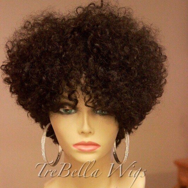 Short Kinky Hair Wigs
