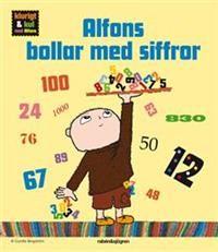Alfons bollar med siffror är andra delen i en serie roliga och nyttiga böcker: Klurigt & kul med Alfons. En rolig och lekfull sifferbok för barn som just börjat bli nyfikna på siffror. Siffror finns ju överallt: när vi handlar, lär oss klockan eller berättar hur gamla vi är, för att bara ge några exempel. Här får du vara med när Alfons planerar sitt sexårskalas. Vi räknar på fingrarna, slår telefonnummer, mäter, räknar ned till kalaset, använder ordningstal, växlar pengar och funderar på den…