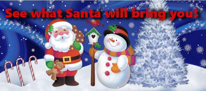 What will Santa bring you! - cool-games.eu